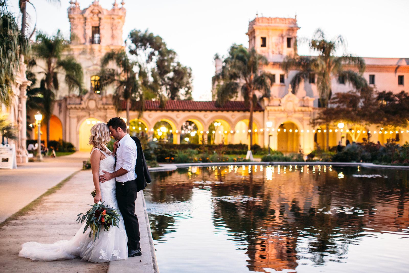 The Prado at Balboa Park Event and Banquet Center Balboa park wedding photos